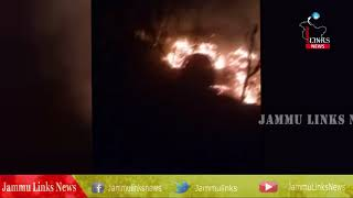 Fire guts three residential houses, two cow sheds in Kupwara