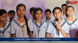CONQUER CHILD HUNGER - WORLD FOOD DAY