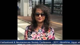 लंच आवर्स,  इंटरनेशनल बिहेवीअरल न्यूरोसाइन्सेज सोसाइटी , 2017 हेरोशिमा जापान - KKD NEWS