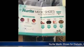Nurite Medic Shoes for Diabetic - Neuropathies, Israel