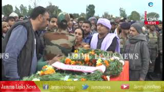 Sunjwan attack: Martyr Madan Lal Choudhary laid to rest with full military honours in Kathua