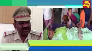 Faridabad News - मासूम बच्ची के सामने फ्राइपैन से की उसकी मम्मी की पिटाई || Delhi Darpan Tv ||