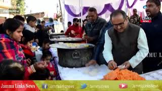DY CM pays obeisance at Aap Shambu temple