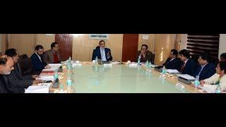 Drabu chairs 15th Board Meeting of J&KBOCWWB
