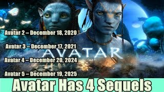 Avatar Movie Has 4 Sequels Releasing in 2020 2021