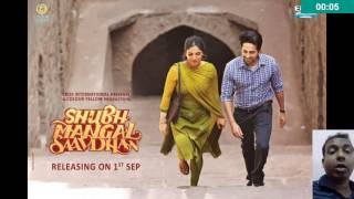 Shubh Mangal Saavdhan First Look Out