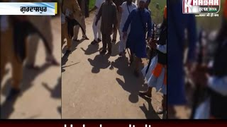 Bloody Clash Between Sikh Sangat And Sikh Jthebandhi In Gurdaspur