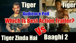 Tiger Zinda Hai Vs Baaghi 2 Trailer I Audience Poll