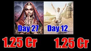 Padman Vs Padmaavat Box Office Collection Day 12
