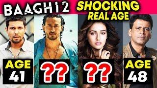 BAAGHI 2 Actors REAL AGE | Tiger Shroff, Disha Patani, Randeep Hooda, Manoj Bajpayee