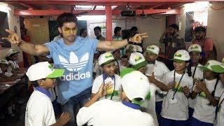 Gurmeet Choudhary Celebrates His Birthday With Smile Foundations Kids