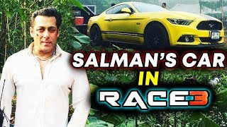 Watch Salman Khan's CAR IN RACE 3 | Salman Khan's RACE 3 CAR STUNT Revealed