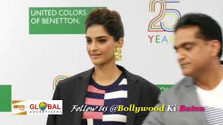 Sonam Kapoor At Benetton Celebrate 25 Years Of Heritage And Values In India 2018