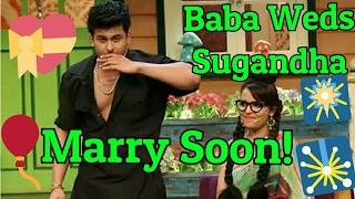 Comedian Sanket Bhosle Weds Sugandha Mishra