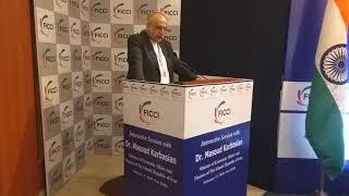 Dr. Masoud Karbasian delivering key Keynote Address
