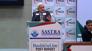 Shaktikanta Das at #Budget2018 Talk at FICCI
