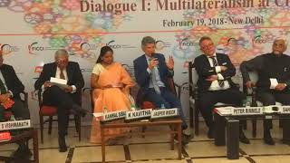 Dr. Jasper Wieck, Deputy Chief of Mission, German Embassy at FICCI–KAS Dialogue Series