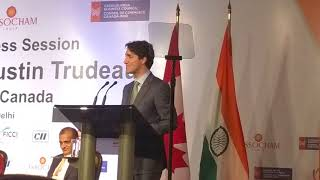 Right Honorable Justin Trudeau, PM of Canada