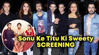 Sonu Ke Titu Ki Sweety Movie SCREENING |  Kartik Aaryan, Nushrat Bharucha, Sunny Singh Nijjar