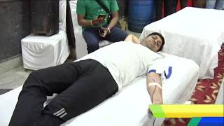 Ashok Vihar News : Blood Donation Camp Organized by Federation of RWA chief Dr. HC Gupta