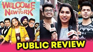 Welcome To New York PUBLIC REVIEW | First Day First Show | Sonakshi, Diljit Dosanjh, Karan Johar