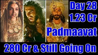 Padmaavat Box Office Collection Day 28