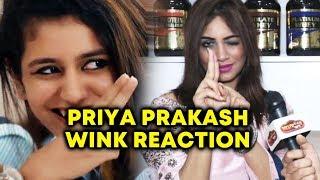 Arshi Khan COPIES Priya Prakash Varrier WINK Pose | Ora Adaar Love