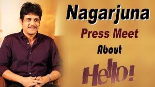 Nagarjuna Press Meet About Hello Movie - Akhil Akkineni    Bhavani HD Movies