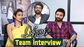 Rana Interviews Malli Raava Movie Team - Sumanth, Aakanksha Singh