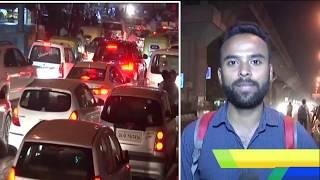 Delhi News - त्यौहारों पर दिल्ली में यहां-यहां लगा है जाम, यात्रियों को हो रही है परेशानी