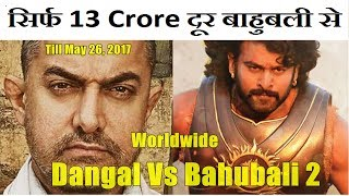 Dangal Vs Bahubali 2 Worldwide Collection Till May