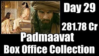 Padmaavat Box Office Collection Day 29