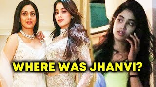 Why Was Sridevi's Daughter Janhvi Kapoor Not With Her Mother During Her Final Moments?