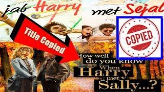 SRK Movie Jab Harry Met Sejal Is A Copy Of Hollywood Film? Audience Poll