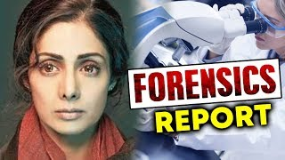 Sridevi Forensic Report From Dubai - Here Is The Reason Of Death