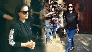 Ameesha Patel Visits Anil Kapoor's House | Sridevi Last Respect