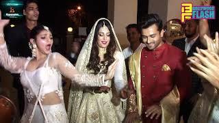 Dipika Kakar & Shoaib Ibrahim GRAND ENTRY At Wedding Reception In Mumbai