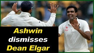 LIVE: Ind vs SA 2nd Test : Ashwin dismisses Dean Elgar || India Got First Wicket || Delhi Darpan Tv