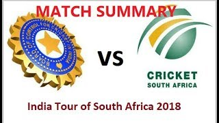 India vs South Africa 2nd Test - Day 1 full Highlights || Ashwin takes two || Ishant one
