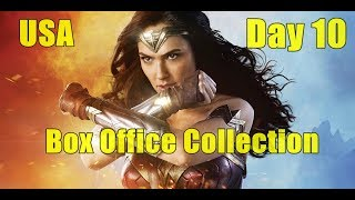 Wonder Woman Box Office Collection Day 10 USA