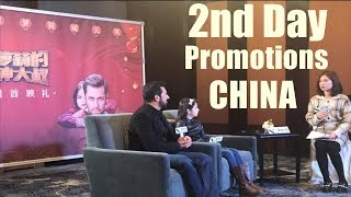 Bajrangi Bhaijaan Second Day Promotions Started In China