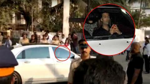 Karan Johar Reached The Celebration Sports Club To Pay His Last Respects To Sridevi