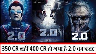 Akshay Kumar And Rajinikanth Starring 2.0 Budget Now Reached 400 Crores