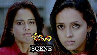 Rowdies Chasing Sameera Reddy Bhavana - Ajith Fight Scene - Soolam (Aasal) Telugu Movie Scenes