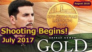 Akshay Kumar Starts Shooting For Gold Movie In July 2017