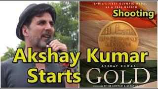 Akshay Kumar Starts Shooting For Gold Film From Today