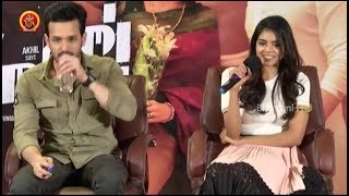 Akhil, Kalyani Priyadarshan & Anup Rubens Press Meet - Hello Team Press Meet - Bhavani HD Movies