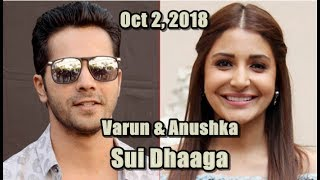 Yash Raj Announces New Film Sui Dhaaga Starring Varun Dhawan And Anushka Sharma