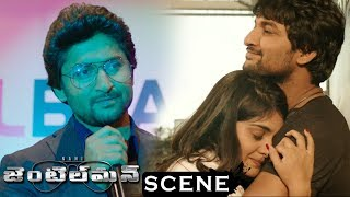Gentleman Movie Scenes - Nani Send Off To Niveda - Nani Intro As Jai  And Wins The Award