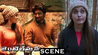 Gentleman Movie Scenes - Nani And Surabhi Hungry For Food - Nani & Surabhi Helps Hotel Lady For Food